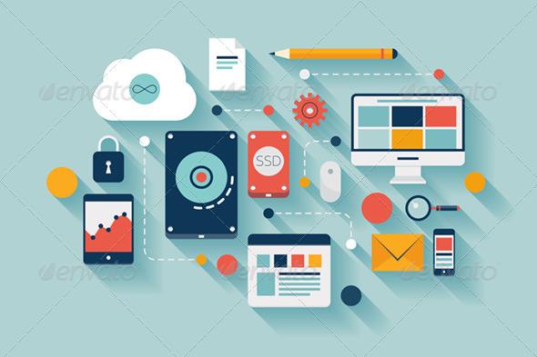 data_management_concept_storage_vector_flat_design_illustration_icons_development_internet_online_backup_preview